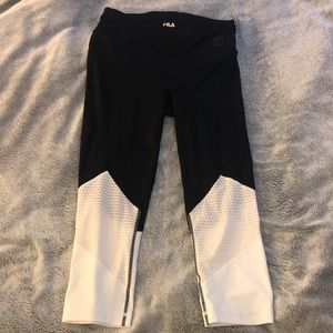Worn once Fila leggings